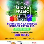 SHOP & MUSIC botigues a la fresca